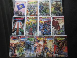 JUSTICE LEAGUE of AMERICA (DC,2013) #1-14 COMPLETE!  VF-NM Geoff Johns