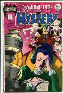 House of Mystery #194-dc horror-SIGNED by BERNIE WRIGHTSON on cover!