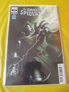 AMAZING SPIDERMAN 11 GABRIELLE DELL OTTO DR DOOM FANTASTIC 4 VILLAINS VARIANT