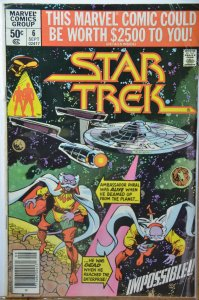 Star Trek #6 (1980) Cockrum cover! Direct edition !!