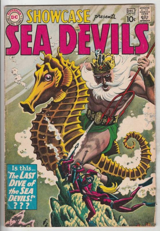 Showcase #29 (Dec-60) VG/FN Mid-Grade Sea Devils