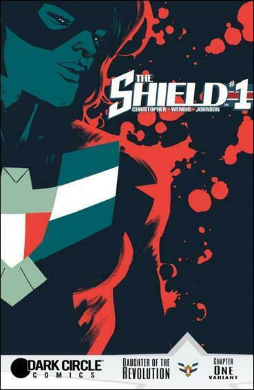 Shield, The (Archie, 2nd Series) #1C FN; Dark Circle | save on shipping - detail