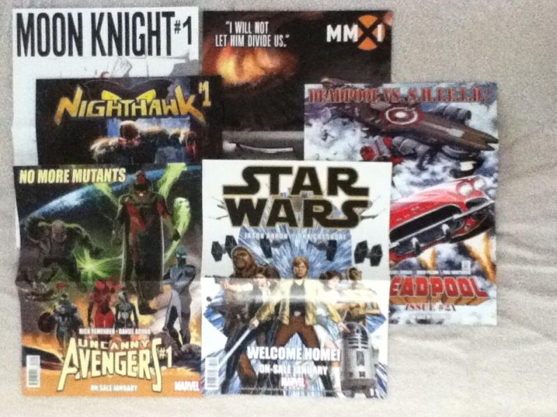 PROMO PACK - DEADPOOL, OUTCAST, STAR WARS - Posters, Promo Cards, More
