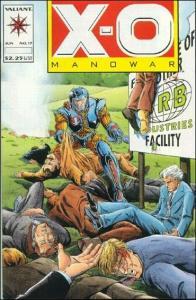 Valiant X-O MANOWAR (1992 Series) #17 VF