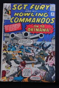 Sgt. Fury, #10, On to Okinawa!