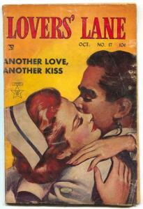 Lovers' Lane #17 1951- Nurse cover- missing half page