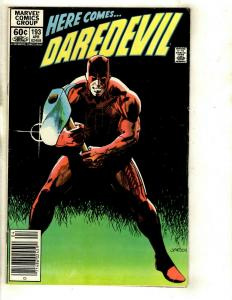 12 Daredevil Marvel Comics #193 194 195 196 198 199 212 237 252 260 262 263 EK14