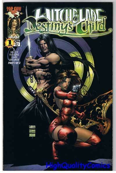 WITCHBLADE DESTINY'S CHILD #1, NM+, Femme Fatale, 2000, more in store