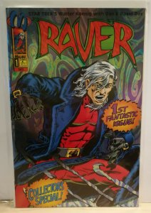Raver #1 Malibu Comics 1st Fantastic Issue Collector's Special NM