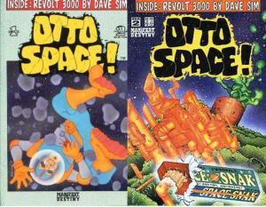 OTTO SPACE (1993 MANIFEST DESTINY) 1-2  DAVE SIM