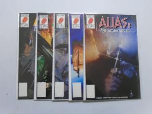 Alias (1990 Now), Set:#1-5, 8.5/VF+ (1990)