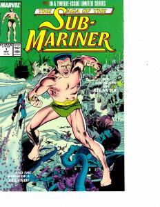 Lot Of 2 Marvel Comic Books Sub Marines #1 Silver Surfer #13 Thor   ON6