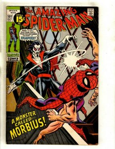 Amazing Spider-Man # 101 FN/VF Marvel Comic Book Lizard Mary Jane Kingpin RS1