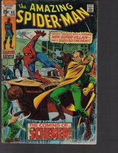 Amazing Spider-Man #83 (Marvel, 1970) GD