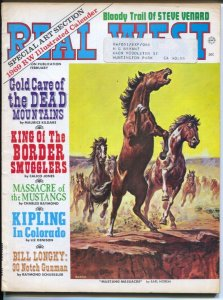 Real West 2/1969-Charlton-Earl Norem Mustang Massacre coverBill Longley-Wild ...