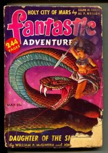 Fantastic Adventures-Pulps-5/1942-Don Wilcox-Robert Bloch