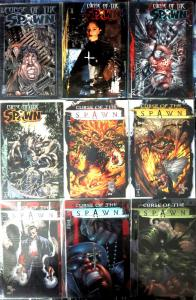 CURSE OF THE SPAWN #5, 12-19 Image Comics Books Sam Twitch Priest Abdiel VF-NM