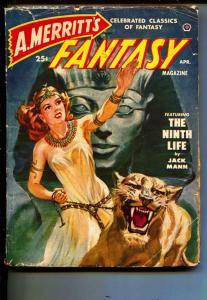 Fantasy-Pulp-4/1950-Theodore Roscoe-Jack Mann