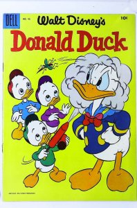 Donald Duck (1940 series) #42, VF- (Actual scan)