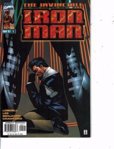 Lot Of 2 Invincible Iron Man Marvel Comic Book #5 6   Iron Man Thor ON14