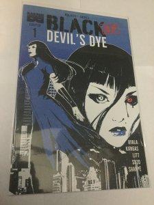 Black AF Devil's Dye 1 Nm Near Mint Black Mask