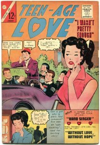 TEEN-AGE LOVE #40 1965-CHARLTON ROMANCE COMIC-EMOTIONS- VG