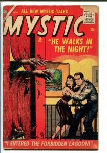 MYSTIC #53 1956-ATLAS-BILL EVERETT HORROR-good