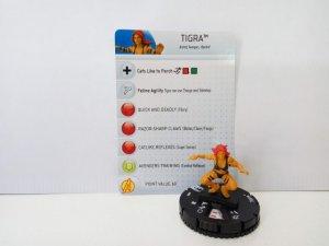 Heroclix: TIGRA - Greer Grant 08 (con tarjeta identificativa)