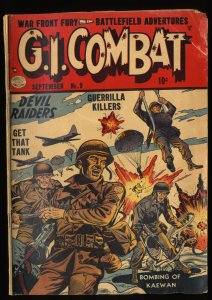 G.I. Combat #9 GD 2.0