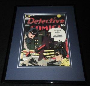 Detective Comics #61 Framed 11x14 Repro Cover Display Batman Robin 3 Racketeers