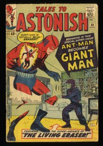 Tales To Astonish #49 GD/VG 3.0 Ant Man becomes Giant Man!