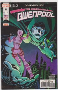 Unbelievable Gwenpool #23
