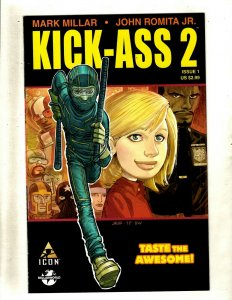 Kick-Ass 2 Complete Marvel Icon Limited Series Comic Books # 1 2 3 4 5 6 7 RP4