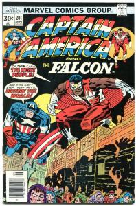 Captain America #201 1976- Falcon- Marvel Bronze Age-Jack Kirby NM-