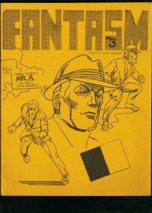 FANTASM #3 1968-RACIST EDITORIAL-SHADOW-SUPERMAN-FANZINE REVIEWS VF
