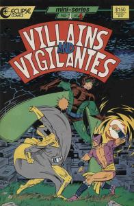 Villains & Vigilantes #1 VF/NM; Eclipse | save on shipping - details inside
