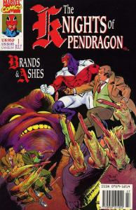 KNIGHTS OF PENDRAGON (1990) 1-10 MARVELS OTHER UK TEAM!