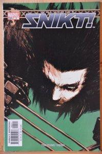 Wolverine: Snikt! #4 (2003) VF+