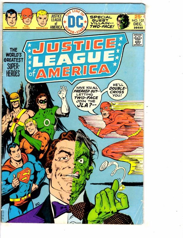 4 DC Comics Superman 283 Kung Fu 6 Stalker 4 Justice League Of America 125 J208