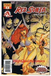 RED SONJA : Doom of the Gods #1, NM, R Howard, Lopresti, more RS in store