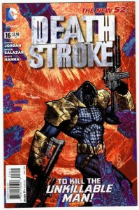 DEATHSTROKE #16 (9.2-9.4) 1¢ Auction! No Reserve!