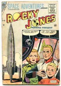 Space Adventures #18 1955- ROCKY JONES SPACE RANGER- vg