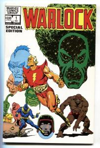 WARLOCK SPECIAL EDITION #1 1982 First issue comic book NM-