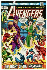 Avengers 114 Aug 1973 VF (8.0)