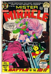 MISTER MIRACLE #8, VF, Jack Kirby, Battle of ID, 1971, more JK in store