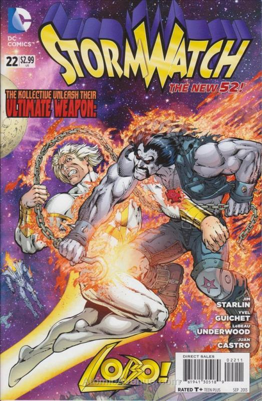 StormWatch (3rd Series) #22 VF/NM; DC | save on shipping - details inside