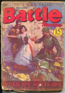 Battle Stories #63 1936-pulp war stories-Whitfield-Painton-Empey-FR