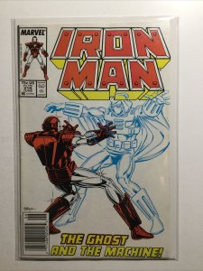 Iron Man 219 Very Fine Vf 8.0 First 1st Ghost Marvel