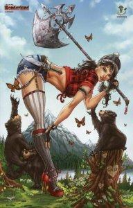 Grimm Fairy Tales:WONDERLAND 8 EMERALD CITY COMIC CON EXCLUSIVE NAUGHTY/NICE SET