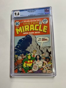 Mister Miracle 18 Cgc 9.6 Ow Pages Jack Kirby 2042371012